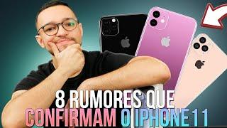 8 RUMORES que 'CONFIRMAM' o iPHONE 11 em 2019!