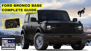 2021 FORD BRONCO BASE COMPLETE GUIDE
