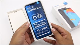 Tecno Camon I Twin Unboxing, Hands on, Camera, Features, Price