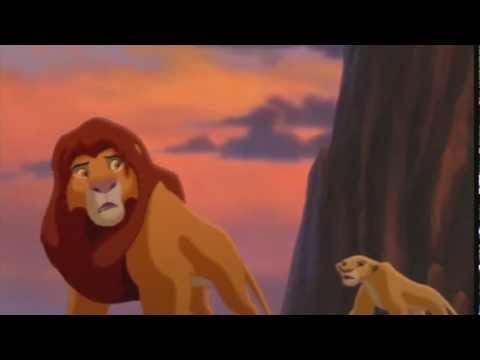 lion king 2 kiara and kovu stop the fight