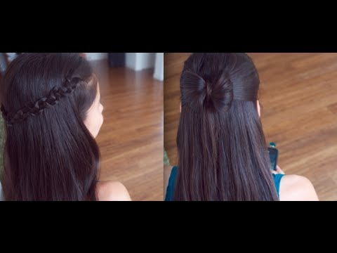 Hairstyles For Long Hair S In Hindi : 4 cute back to school hair styles !!! promise phan youtube