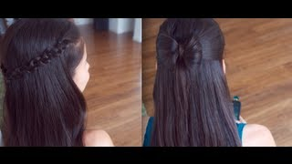Download 4 Cute Back to School Hair Styles !!! (Promise Phan) Mp3 and Videos