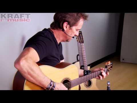 Kraft Music - Takamine Pro Series P3 Demo with Brad Davis