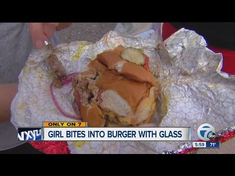 Glass found in Wendy's hamburger: Mom rushes 3-year-old daughter to hospital