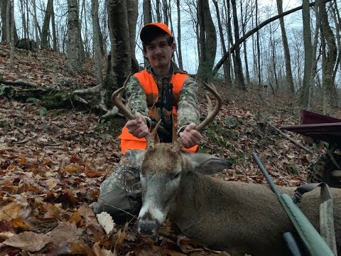 Post-Rut East Tennessee Buck Goes Down!