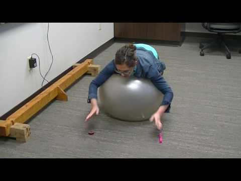 Using An Exercise Ball In Vision Therapy