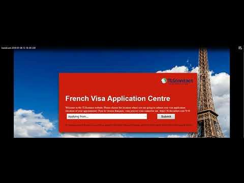 VFS Global remplacera TLScontact Rendez vous visa France en Algérie sera 07  01 2017