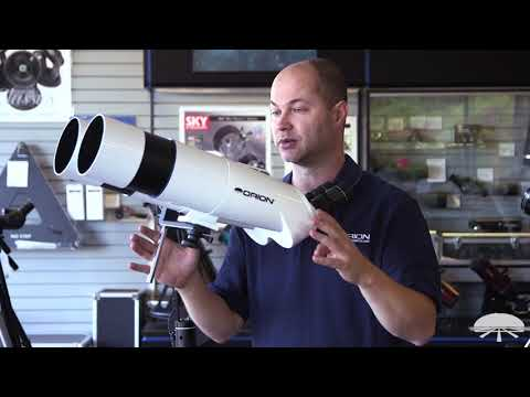 Features of the Orion GiantView BT100 Binocular Telescope  Orion Telescopes