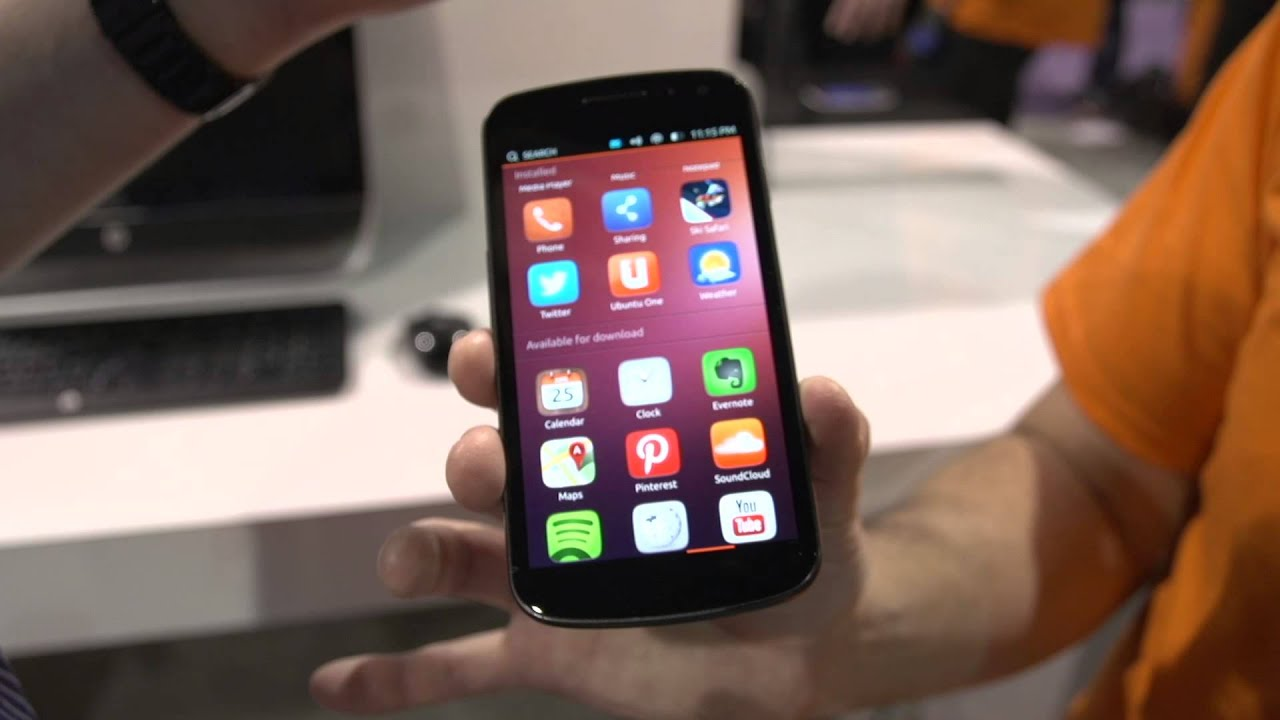 Ubuntu Phone Featuring Slick Linus Tech Tips CES 2013 ...