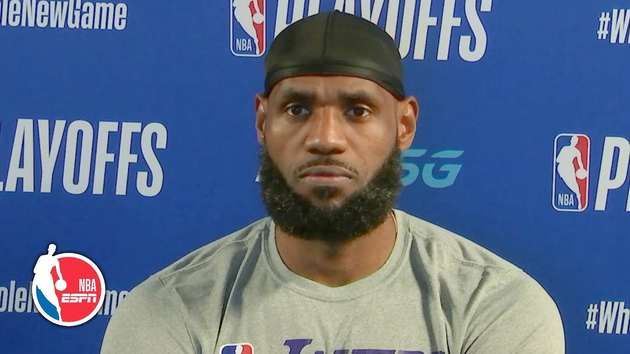 LeBron James recaps 38-point Game 3 win vs. Blazers | 2020 NBA Playoffs