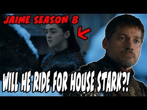 Will Jaime RIDE For House Stark?! Game Of Thrones Season 8 BREAKDOWN/Analysis!