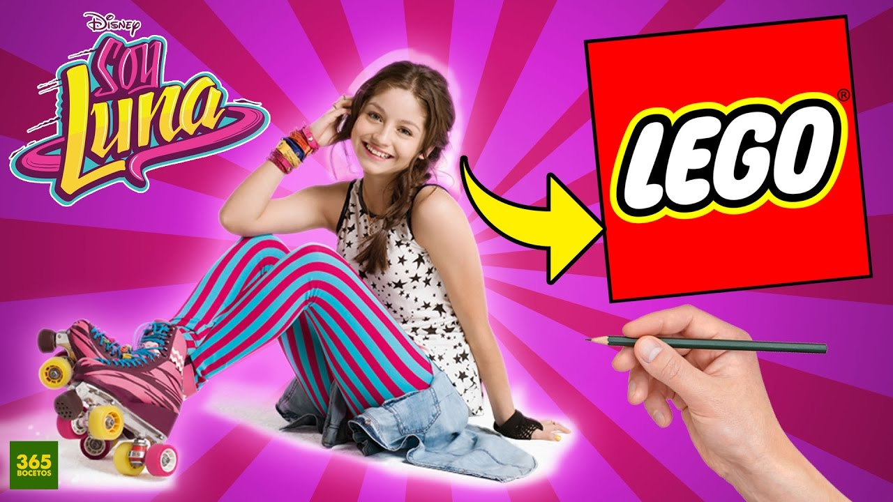 COMO DIBUJAR A SOY LUNA ESTILO LEGO  Como dibujar a Karol Sevilla