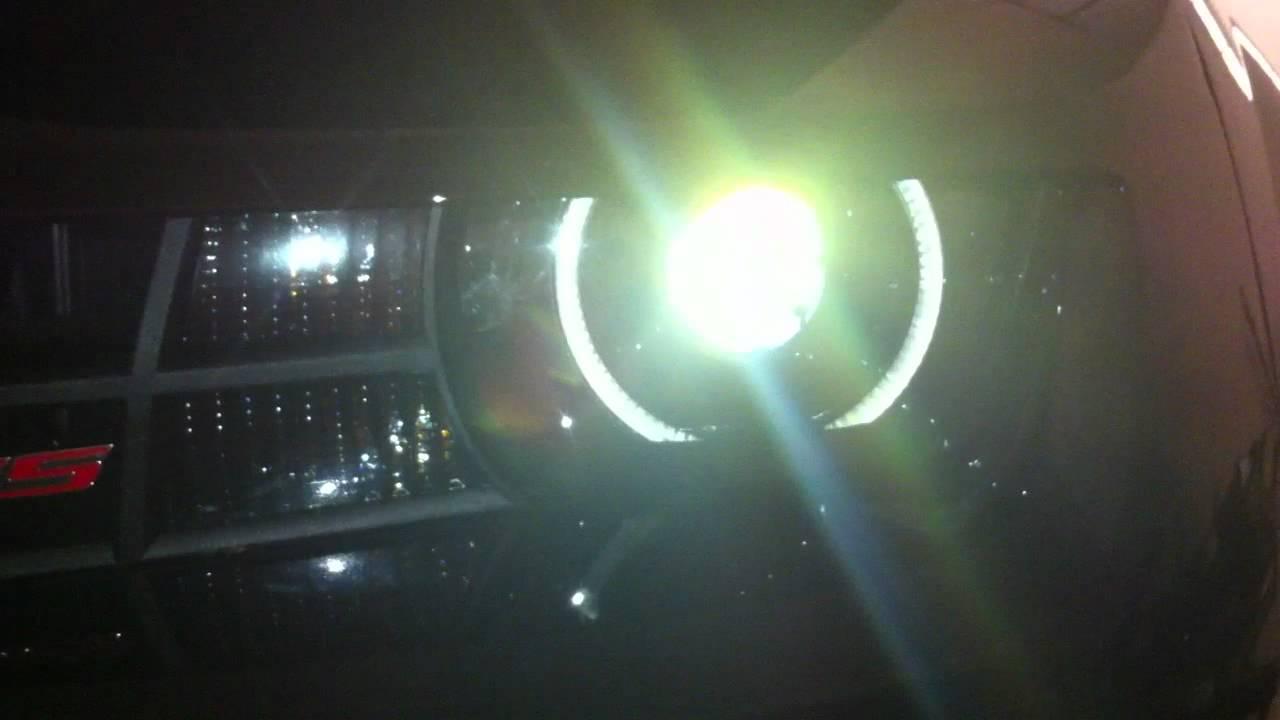 2011 Camaro Halo Install Youtube Headlight Wiring Diagram