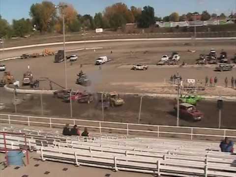 Black Hills Speedway demolition derby 2012 Main
