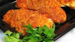 Baked Paprika-Parmesan Chicken -- Lynns Recipes