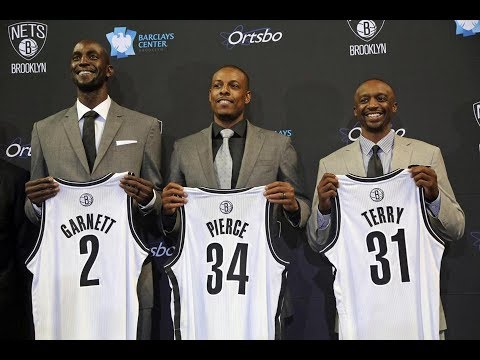 Paul Pierce and Kevin Garnett Trade To The Brooklyn Nets