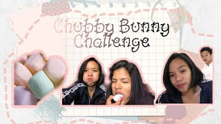 Funny chubby bunny challenge 2020🍡😂 #Philippines #ChubbyBunny #Challenge