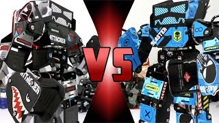 ROBOT DEATH BATTLE! -  SUPER ANTHONY V2 VS  SUPER ANTHONY V1 (ULTIMATE ROBOT DEATH BATTLE!)