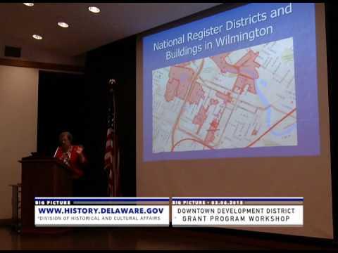 """Big Picture"" presents Downtown Development District Grant Workshop"