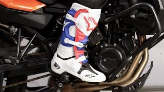 Alpinestars Tech 10 Boots 2014 Review at RevZilla.com