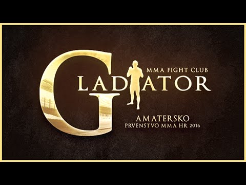 Gladiator Dubrovnik - Amatersko prvenstvo MMA HR 2016 - Tin Cvjetković - Srebro seniori (-93kg)