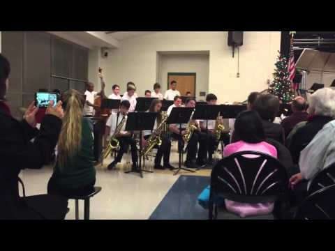 Ni River Middle School Jazz Band X-Mas Concert