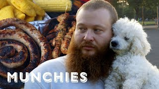 Action Bronson Eats The Best Colombian Food in NYC