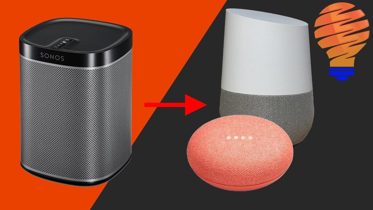 Sonos One Google Home