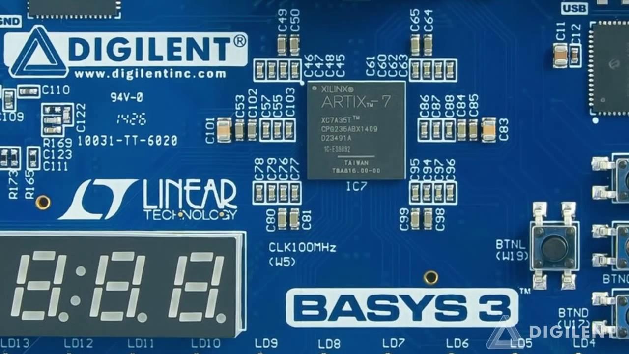 Digilent - Basys 3 Introduction