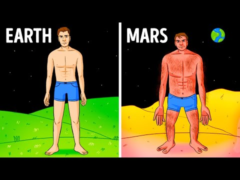 How You'd Look Living on Different Planets