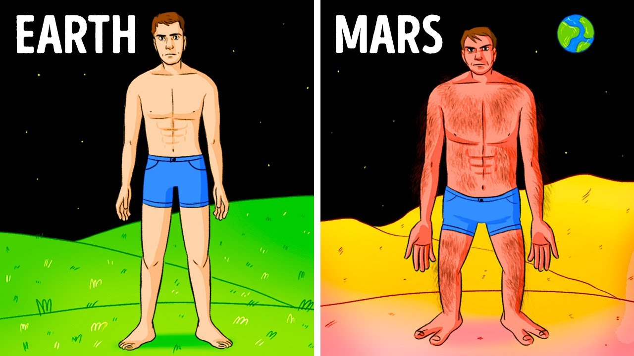Download How You'd Look Living on Different Planets