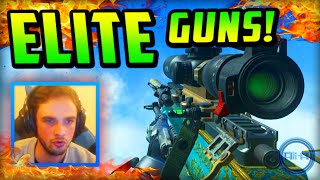 weird sniper advanced warfare elite guns 3 live w ali a call of duty gameplay