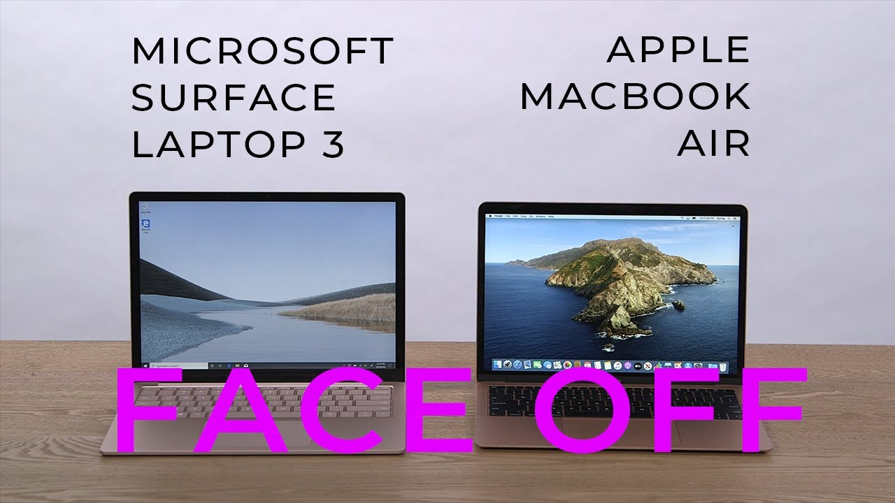 Microsoft Surface Laptop 3 vs. Apple MacBook Air: Which laptop wins?