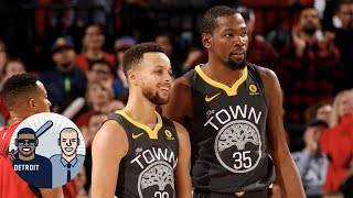Bigger threat to Warriors: Rockets or complacency?   Jalen & Jacoby   ESPN