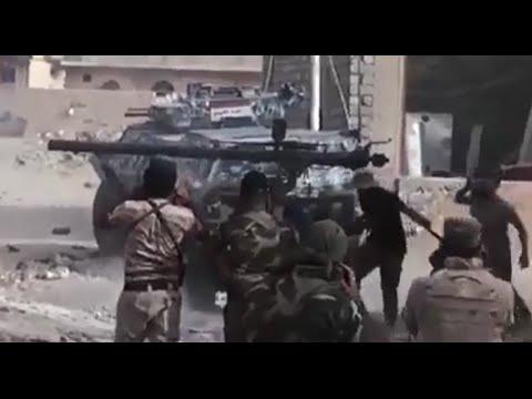 Сирия.Уличные бои-месиво.Исламистам достанется.Игил