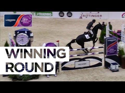 Jur Vrieling's Winning Round in Helsinki |Longines FEI World Cup™ Jumping