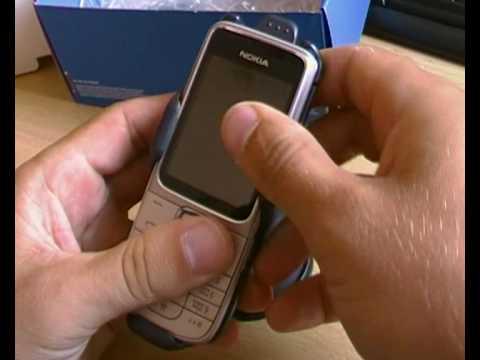 Nokia 2710 Navigation Edition Распаковка комплекта поставки Крепление на док станцию