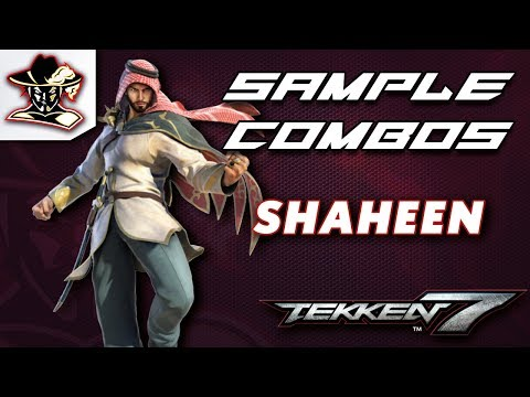 Tekken 7: Shaheen - Staple Combos