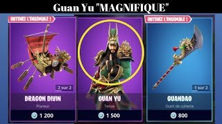 "NEW SKIN Fortnite ""GUAN YU"" in the BOUTIQUE of December 2, 2018 ITEM SHOP December 2 2018"