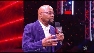 WWE RAW 1/4/21 Teddy Long Returns To Raw!