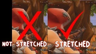 Stretched resolution not working when recording *FIX*! (Fortnite, CS:GO, Etc!)