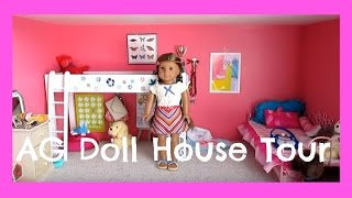 Updated American Girl Doll House Tour (dec. 25)