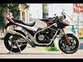 Honda VF 750 exhaust sound compilation