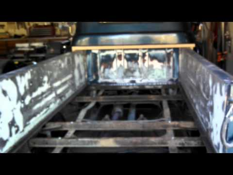 Installing A New Wood Bed In A 57 Chevy 3200 Picku Youtube