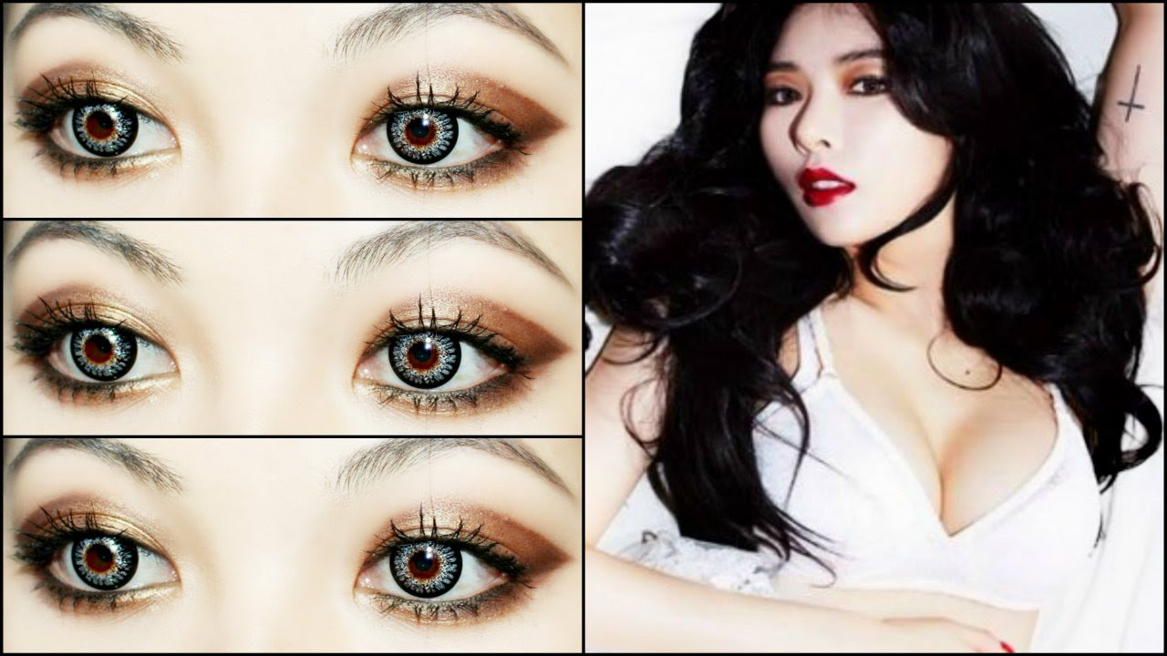 Hyuna Sexy Quot Red Quot 빨개요 Comeback Makeup Tutorial Youtube