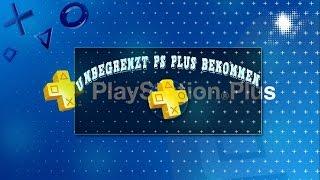 PlayStation Plus - Unbegrenzt PlayStation Plus bekommen | GERMAN