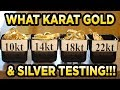 (Gold Test Empire) Gold, Silver & Platinum Testing kit - Equipment Review