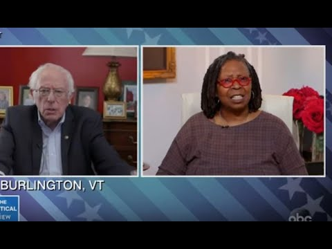 The View Badgers & Disrespects Bernie Sanders