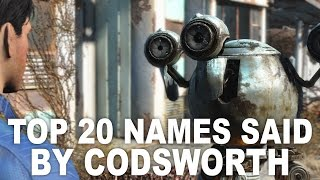 Fallout 4 - Top 20 Player Names Codsworth Can Call You