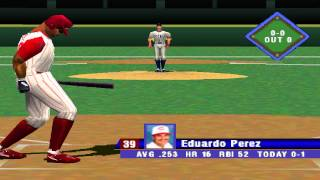 MLB 99 PS1 Cubs vs. Reds [HD]